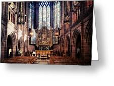 #liverpoolcathedrals #liverpoolchurches Greeting Card
