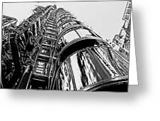 Lloyds Building Central London  Greeting Card