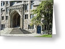 Lockhart Hall Princeton Greeting Card