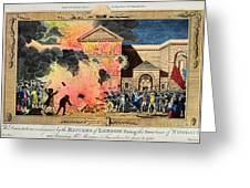 London: Gordon Riots, 1780 Greeting Card