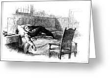 Longfellow: Evangeline Greeting Card