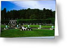 Longwood Gardens Fountain Garden Greeting Card