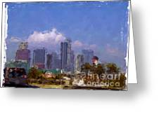 Los Angeles - California Greeting Card