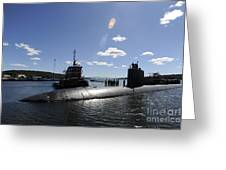 Los Angeles-class Submarine Uss Greeting Card
