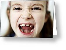 Loss Of Milk Teeth Greeting Card