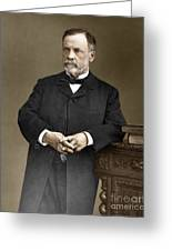 Louis Pasteur, French Chemist Greeting Card by Omikron