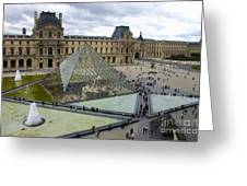 Louvre Museum. Paris Greeting Card