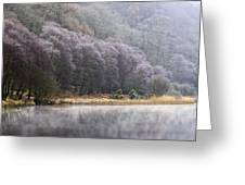 Lower Lake, Glendalough, County Greeting Card