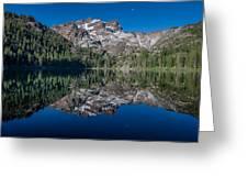 Lower Sardine Lake  Greeting Card