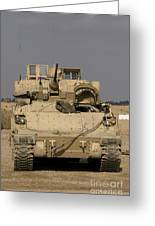 M2m3 Bradley Fighting Vehicle Greeting Card