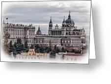 Madrid Greeting Card