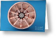 Magnetron Greeting Card