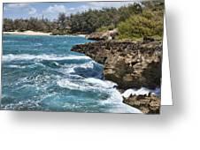 Mahaulepu Beach Greeting Card