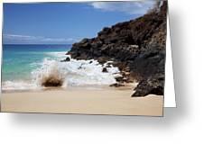 Makena Wave Greeting Card