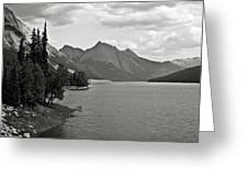 Maligne Lake Greeting Card