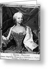 Maria Theresa (1717-1780) Greeting Card