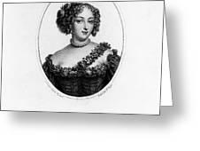 Marie-ang�lique De Rousille Greeting Card