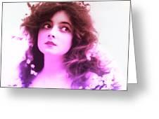 Marie Doro 1902 Greeting Card