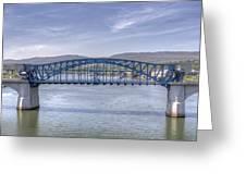 Market Street Bridge Greeting Card