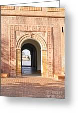 Marrakech In Morocco Greeting Card