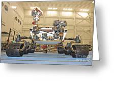 Mars Science Laboratory Rover Greeting Card