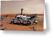 Mars Science Laboratory Greeting Card