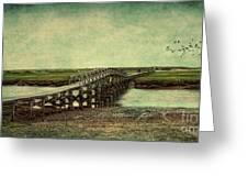 Marshland Greeting Card