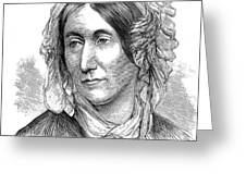 Mary Somerville, Scottish Polymath Greeting Card