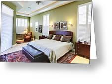 Master Bedroom Greeting Card