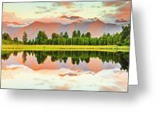 Matheson Lake Greeting Card by MotHaiBaPhoto Prints
