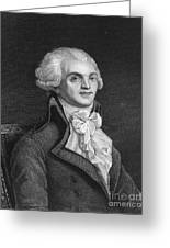 Maximilien Robespierre Greeting Card