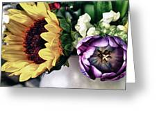 May Flowers I Greeting Card