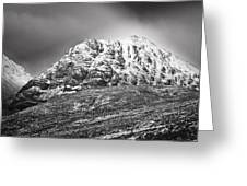 Meall Dearg Mountain At Glencoe Scotland Greeting Card
