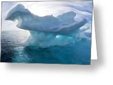 Melting Arctic Sea Ice, Canada Greeting Card