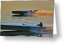 Mercury And Hornet II Greeting Card