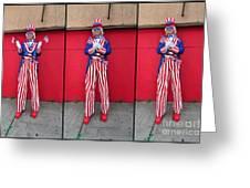 Mermaid Parade Collage 2011 Coney Island Greeting Card