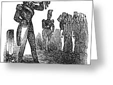 Mexican War: Soldiers Greeting Card