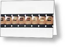 Microfilm Greeting Card