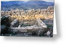 Midea Ruins Greeting Card