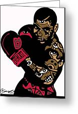Mike Tyson Full Color Greeting Card