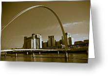 Millenium Bridge Greeting Card