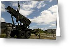 Mim-104 Patriot Missile Launcher Greeting Card