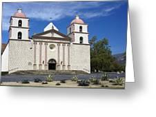 Mission Santa Barbara Greeting Card