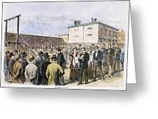 Molly Maguires Executions Greeting Card