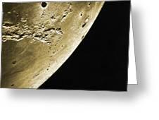 Moon, Apollo 16 Mission Greeting Card