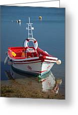 Moored Up Greeting Card