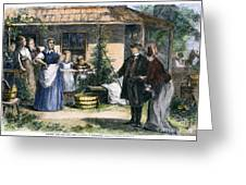 Mormon Wives, 1875 Greeting Card