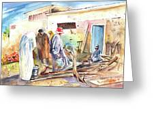 Moroccan Market 02 Greeting Card
