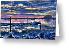 Morro Bay Wonder Greeting Card