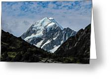 Mount Cook Greeting Card